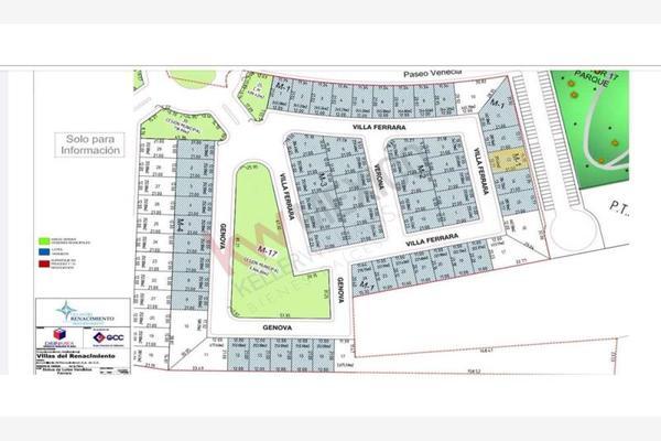 Foto de terreno habitacional en venta en villa ferrara 101, villas del renacimiento, torreón, coahuila de zaragoza, 0 No. 02