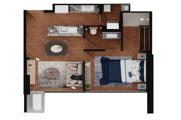 Foto de departamento en venta en  , villas de la hacienda, monterrey, nuevo león, 20834665 No. 04