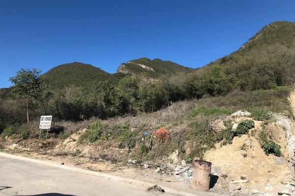 Foto de terreno habitacional en venta en  , villas de la herradura, monterrey, nuevo león, 7957653 No. 01