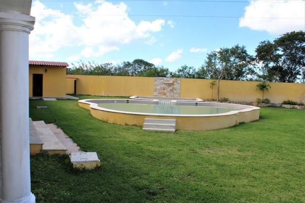 Foto de rancho en venta en  , villas de tixcacal, mérida, yucatán, 19425319 No. 14