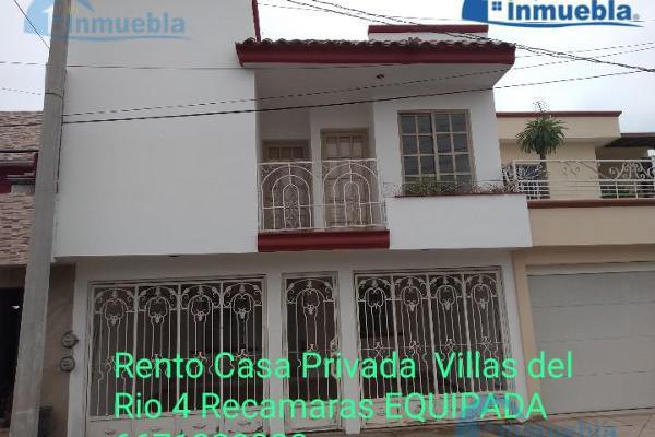 Foto de casa en renta en  , villas del rio, culiacán, sinaloa, 7527798 No. 01