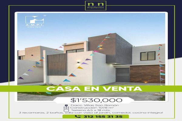 Foto de casa en venta en  , villas diamante, villa de álvarez, colima, 19598294 No. 01