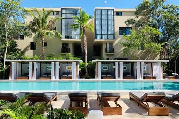 Foto de departamento en venta en  , villas huracanes, tulum, quintana roo, 14020322 No. 01