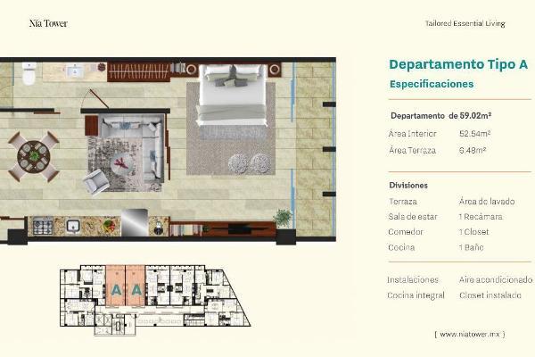 Foto de departamento en venta en  , villas la hacienda, mérida, yucatán, 14038720 No. 04