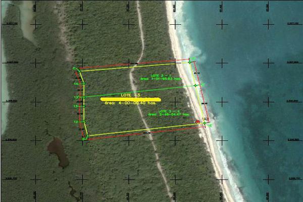 Foto de terreno comercial en venta en  , villas tulum, tulum, quintana roo, 7475771 No. 03