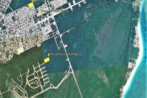 Foto de terreno habitacional en venta en  , villas tulum, tulum, quintana roo, 7867211 No. 01