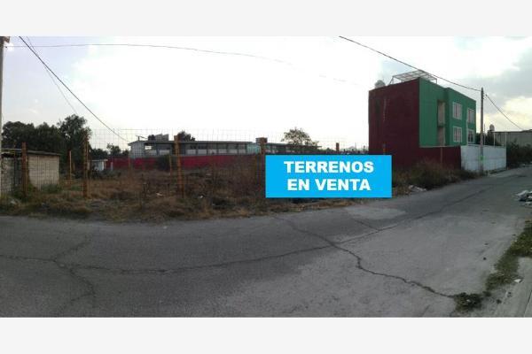Foto de terreno habitacional en venta en virgen de la luz conocido, la guadalupana, ecatepec de morelos, méxico, 6170645 No. 01