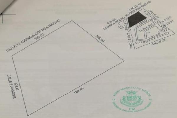 Foto de terreno comercial en venta en  , vista alegre lotificacion, mérida, yucatán, 8902747 No. 01