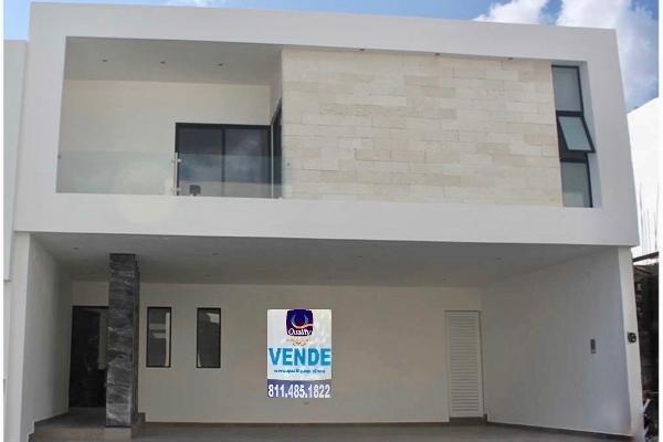 Foto de casa en venta en  , vistancias 1er sector, monterrey, nuevo león, 14037986 No. 01