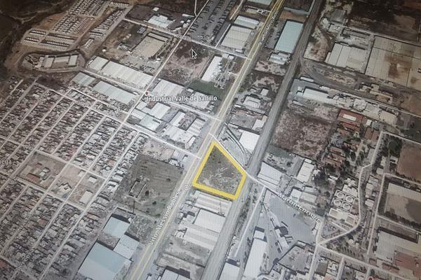 Foto de terreno habitacional en venta en vito alessio robles , nuevo méxico, saltillo, coahuila de zaragoza, 14036393 No. 01
