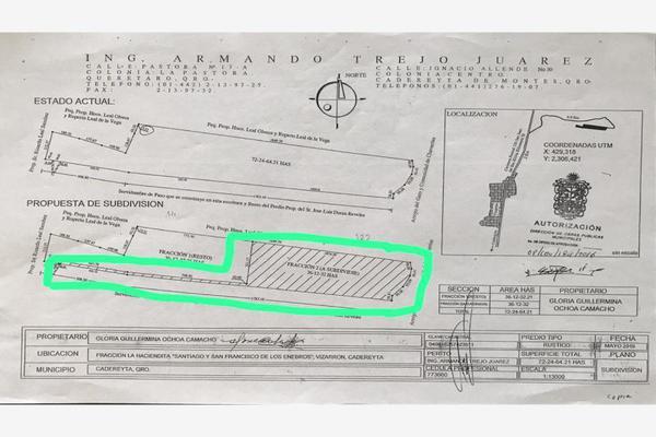 Foto de terreno comercial en venta en vizarrón , vizarrón de montes, cadereyta de montes, querétaro, 20544864 No. 04