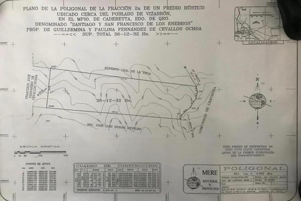Foto de terreno comercial en venta en vizarrón , vizarrón de montes, cadereyta de montes, querétaro, 20544864 No. 07