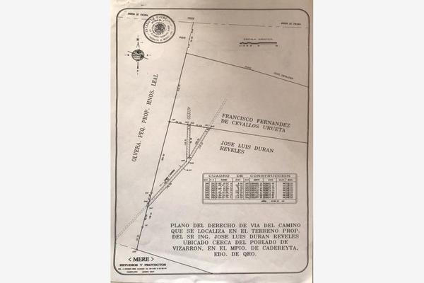 Foto de terreno comercial en venta en vizarrón , vizarrón de montes, cadereyta de montes, querétaro, 20544864 No. 08