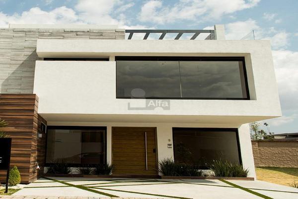 Foto de casa en venta en vizcaino, parque baja california , lomas de angelópolis ii, san andrés cholula, puebla, 5713351 No. 01