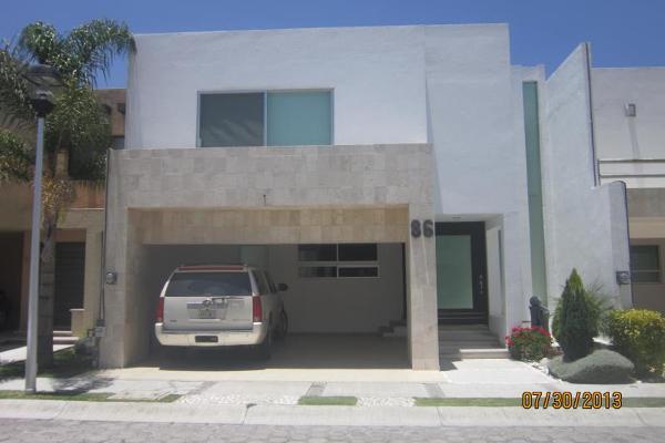 Foto de casa en renta en x x, valle real, san andrés cholula, puebla, 9914466 No. 01