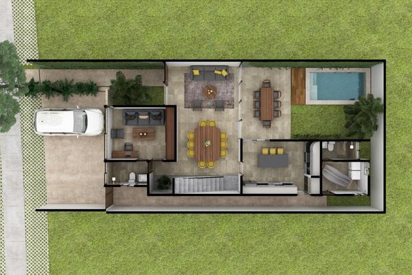 Foto de casa en venta en  , xcanatún, mérida, yucatán, 10014189 No. 06