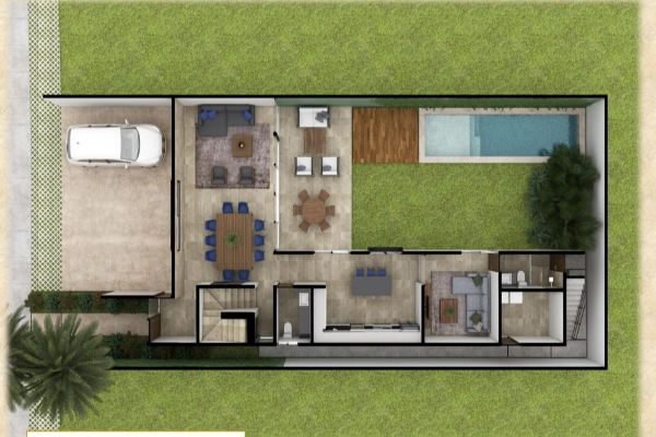 Foto de casa en venta en  , xcanatún, mérida, yucatán, 14026283 No. 04