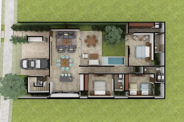 Foto de casa en venta en  , xcanatún, mérida, yucatán, 0 No. 06