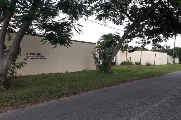 Foto de terreno habitacional en venta en  , xmatkuil, mérida, yucatán, 5695601 No. 01