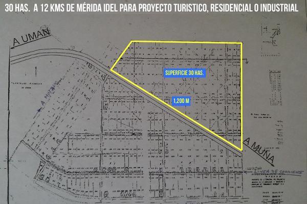 Foto de terreno habitacional en venta en kilometro 23 carretera uxmal-merida , xtepen, umán, yucatán, 2720157 No. 04