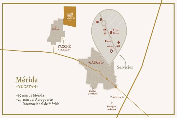 Foto de terreno habitacional en venta en  , yaxche, mérida, yucatán, 8106113 No. 04