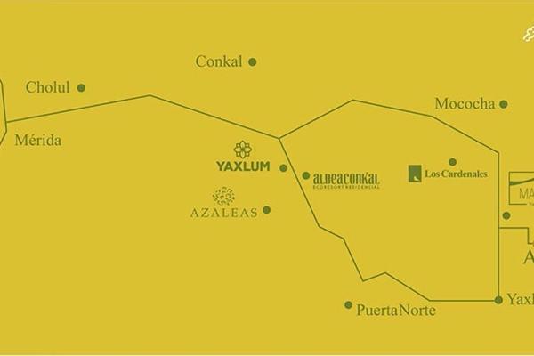 Foto de terreno habitacional en venta en  , yaxkukul, yaxkukul, yucatán, 3426072 No. 02