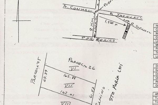 Foto de terreno habitacional en venta en  , yaxkukul, yaxkukul, yucatán, 7860865 No. 01