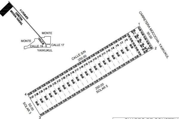 Foto de terreno habitacional en venta en  , yaxkukul, yaxkukul, yucatán, 8100050 No. 03