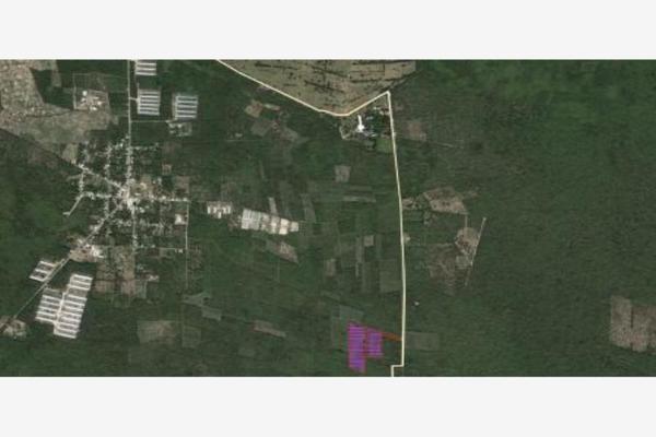 Foto de terreno habitacional en venta en yaxkukul yazxkukul, yaxkukul, yaxkukul, yucatán, 5913646 No. 01