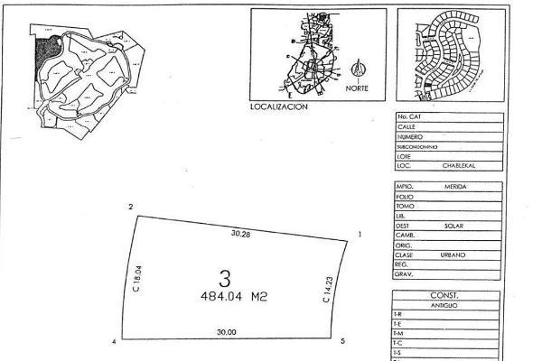 Foto de terreno habitacional en venta en  , yucatan, mérida, yucatán, 14038689 No. 05
