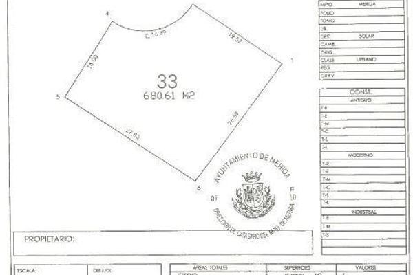 Foto de terreno habitacional en venta en  , yucatan, mérida, yucatán, 5670906 No. 09
