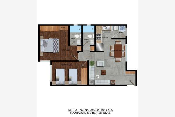 Foto de departamento en venta en  , zacahuitzco, benito juárez, df / cdmx, 8213973 No. 02