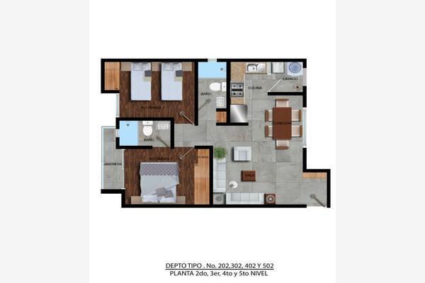 Foto de departamento en venta en  , zacahuitzco, benito juárez, df / cdmx, 8213973 No. 04