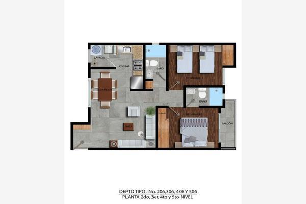 Foto de departamento en venta en  , zacahuitzco, benito juárez, df / cdmx, 8213973 No. 05