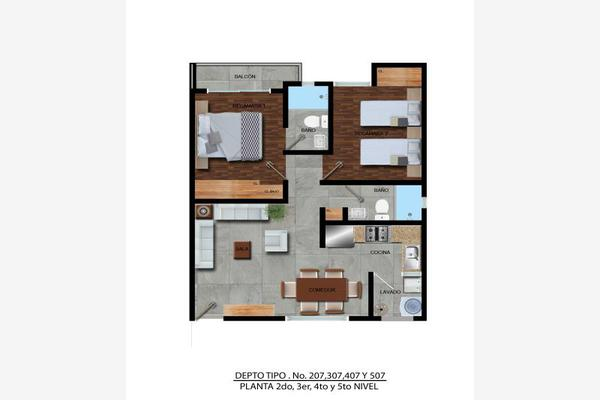 Foto de departamento en venta en  , zacahuitzco, benito juárez, df / cdmx, 8213973 No. 06