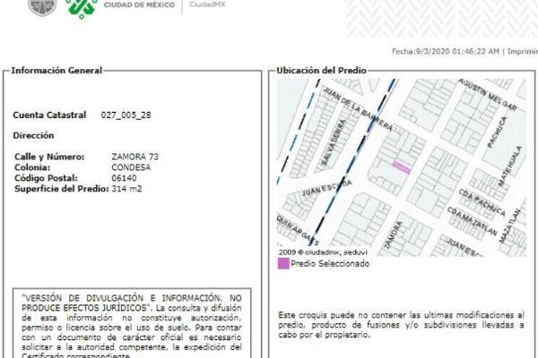 Foto de departamento en venta en zamora 103, condesa, cuauhtémoc, df / cdmx, 0 No. 02
