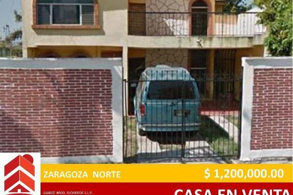 Foto de casa en venta en zaragoza , río verde centro, rioverde, san luis potosí, 2715058 No. 01