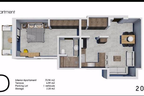 Foto de departamento en venta en  , zona hotelera san josé del cabo, los cabos, baja california sur, 3707523 No. 02