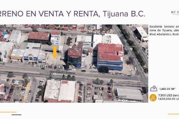 Foto de terreno habitacional en venta en boulevard abelardo l. rodriguez , zona urbana río tijuana, tijuana, baja california, 2725841 No. 01