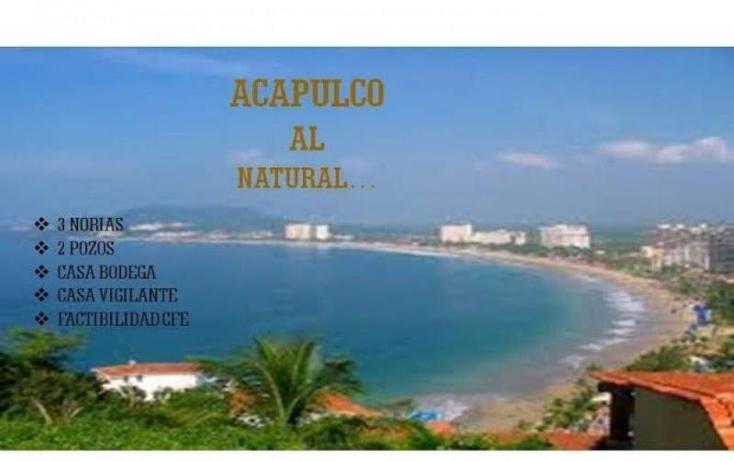 Foto de terreno habitacional en venta en 0 0, amatillo, acapulco de juárez, guerrero, 1841546 No. 02