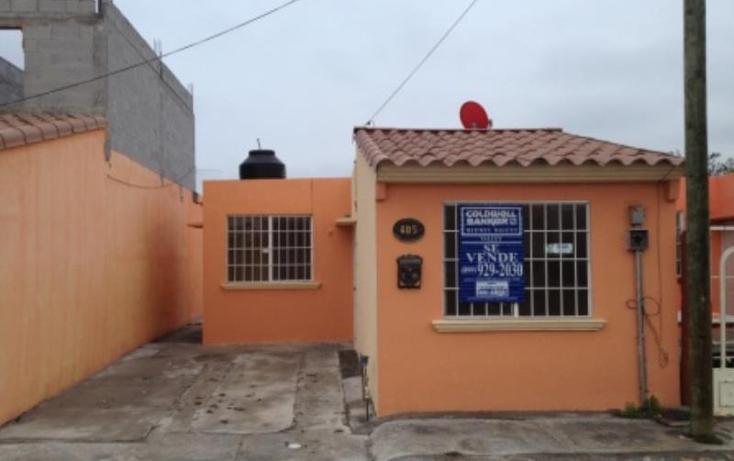 Foto de casa en venta en  0, bugambilias, reynosa, tamaulipas, 391135 No. 01