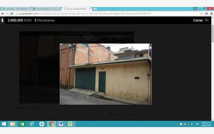 Foto de casa en venta en  0, chimalcoyotl, tlalpan, distrito federal, 1704048 No. 01