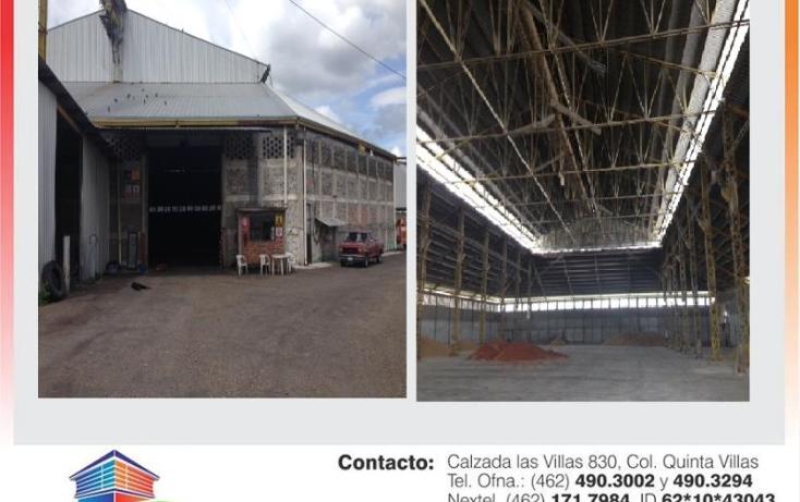 Foto de bodega en renta en  0, ciudad industrial, irapuato, guanajuato, 593674 No. 01