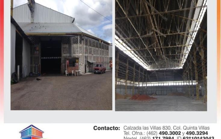 Foto de bodega en renta en  0, ciudad industrial, irapuato, guanajuato, 593675 No. 01