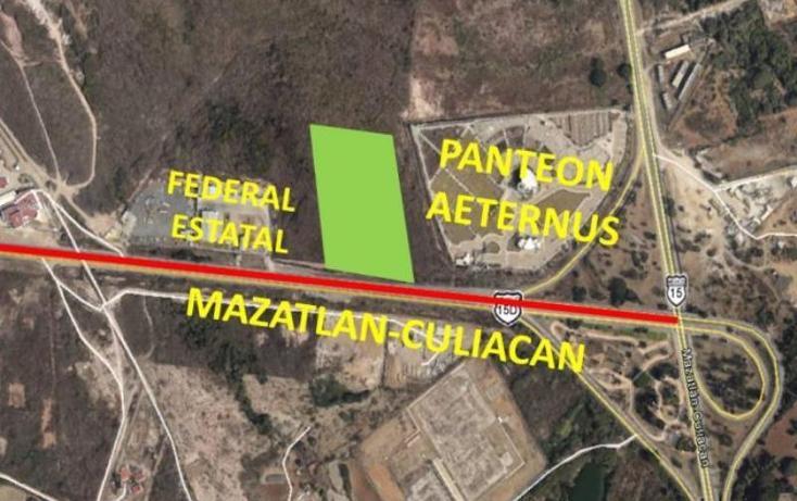 Foto de terreno comercial en venta en  0, el venadillo, mazatlán, sinaloa, 1400979 No. 05