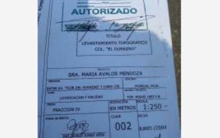 Foto de terreno comercial en venta en  0, flor del durazno, morelia, michoac?n de ocampo, 1956890 No. 09