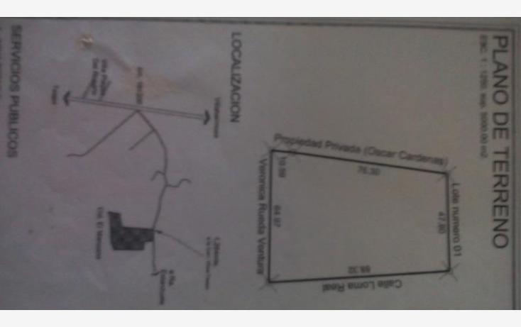 Foto de terreno comercial en venta en el manzano 0, la lima, centro, tabasco, 1674302 No. 02