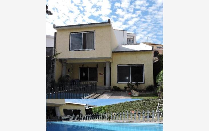 Foto de casa en venta en  0, lomas de atzingo, cuernavaca, morelos, 822157 No. 01
