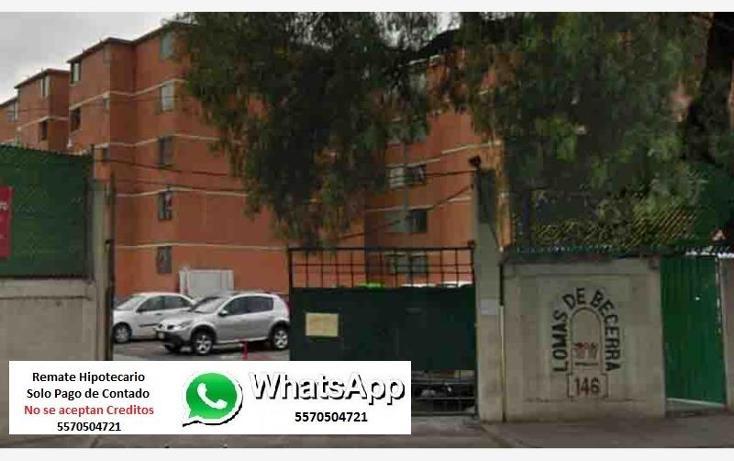 Foto de departamento en venta en  0, lomas de becerra, ?lvaro obreg?n, distrito federal, 1974372 No. 01
