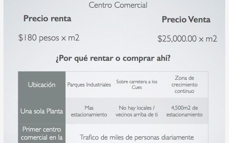 Foto de local en renta en  0, los cues, huimilpan, querétaro, 1708266 No. 06